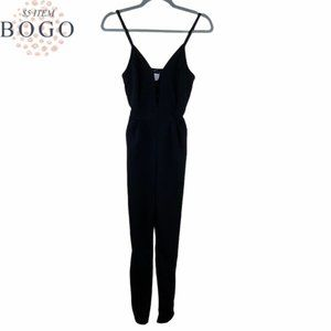 French Atmosphere Jumpsuit Black M
